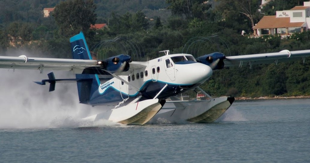 Seaplanes will not compete but complement short sea shipping: Nikos Charalambous, CEO of Hellenic Seaplanes