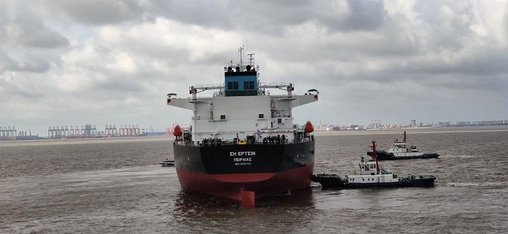 Pantheon Tankers: Παρέλαβε με επιτυχία το Aframax