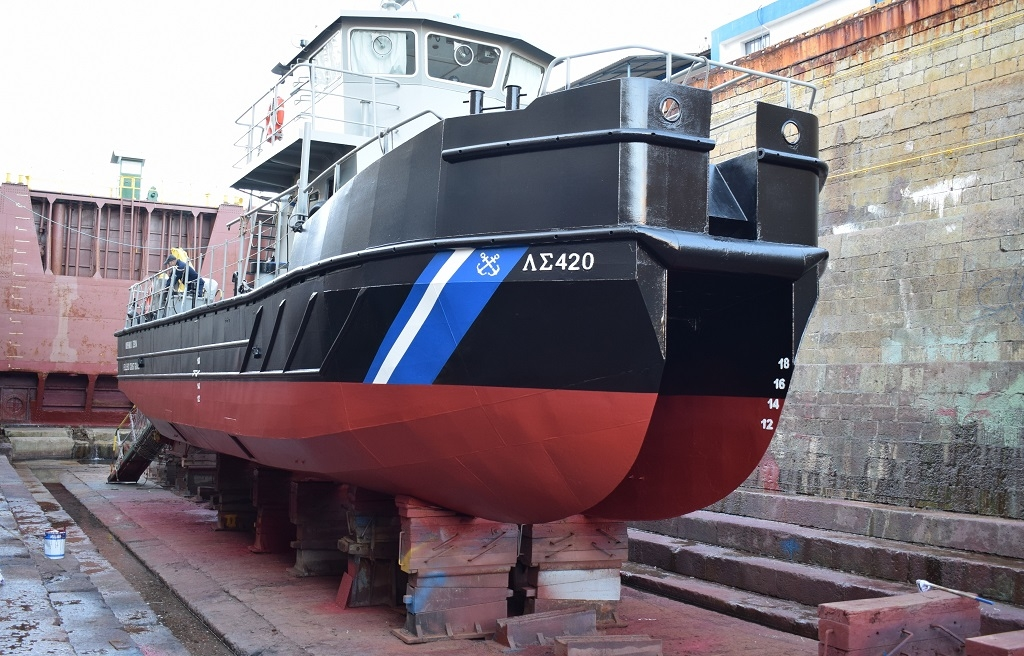 PPA S.A.: Free docking of the Antipollution Vessel PLS-420