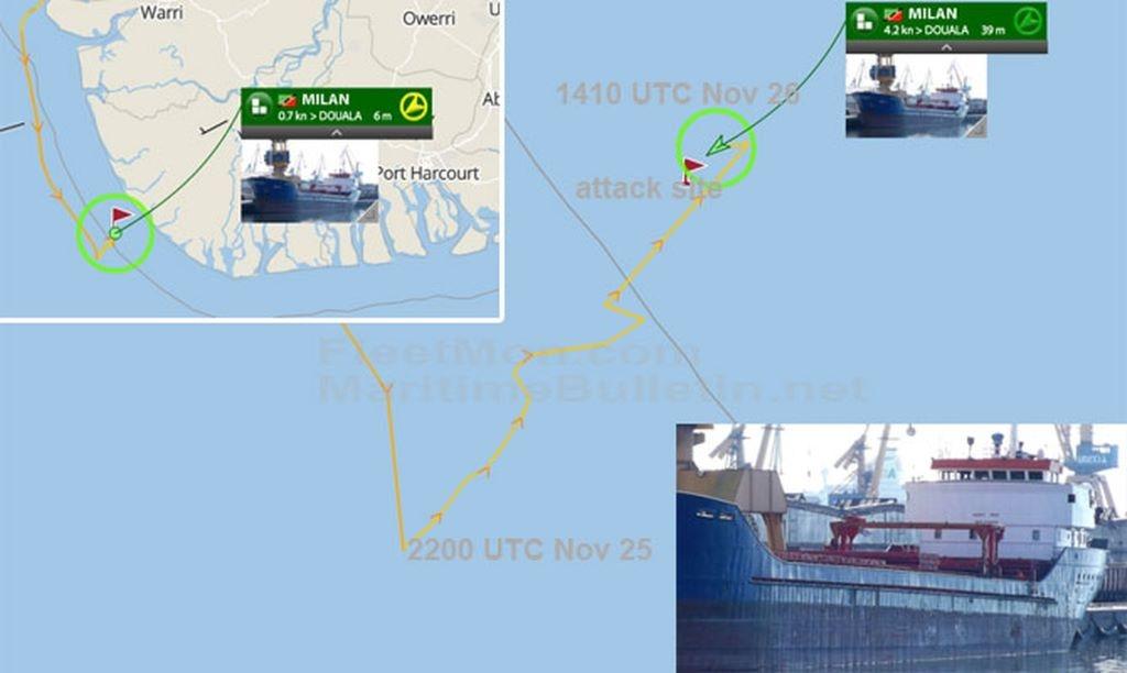 Πειρατές απήγαγαν 10 ναυτικούς στο κόλπο της Γουινέας