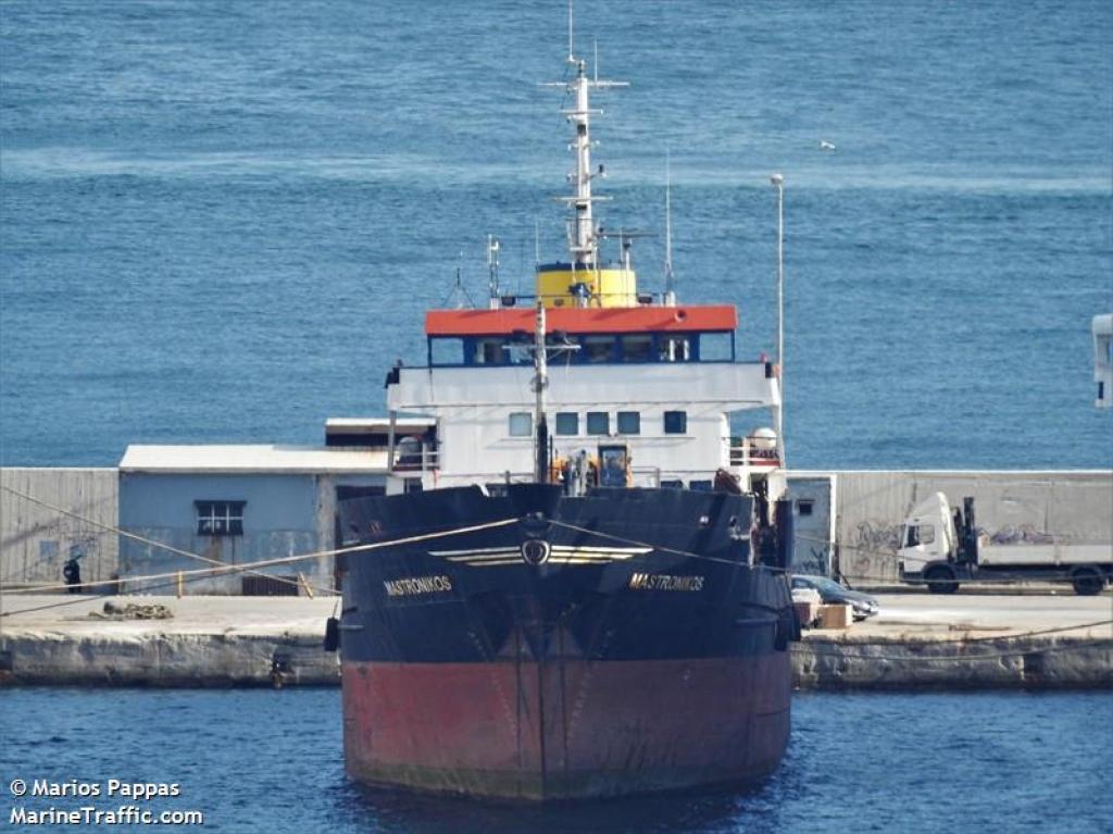 Προσάραξη Φ/Γ πλοίου στην Κεραμωτή Καβάλας