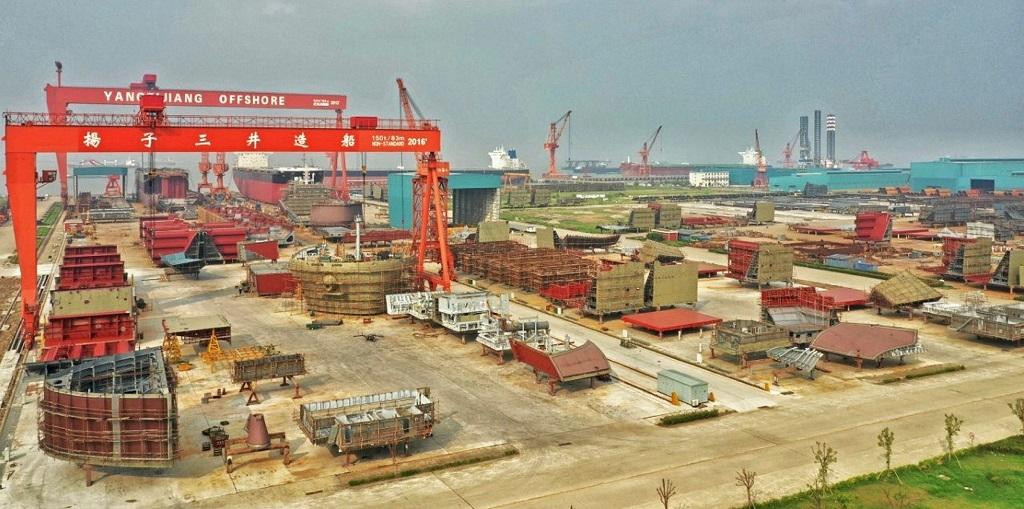 Το ναυπηγείο Yangzijiang επενδύει $513 εκατομμύρια για την ανάπτυξη της ναυπηγικής βιομηχανίας