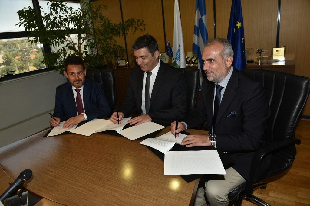 Υπογραφή MoU μεταξύ ΔΕΠΑ, ΔΕΣΦΑ και Οργανισμού Λιμένος Πάτρας (ΟΛΠΑ) με στόχο την προώθηση του LNG bunkering στον Λιμένα Πατρών