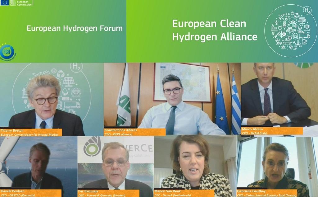 Τοποθέτηση του Διευθύνοντος Συμβούλου, Κ. Ξιφαρά στο Ευρωπαϊκό Φόρουμ Υδρογόνου
