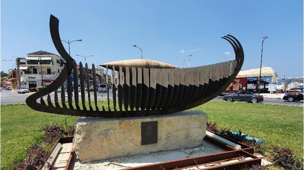 Κέρκυρα: «Απήδαλος ναυς», το πλοίο χωρίς πηδάλιο, που κινούνταν με το νου, χωρίς να χρειάζεται καπετάνιο