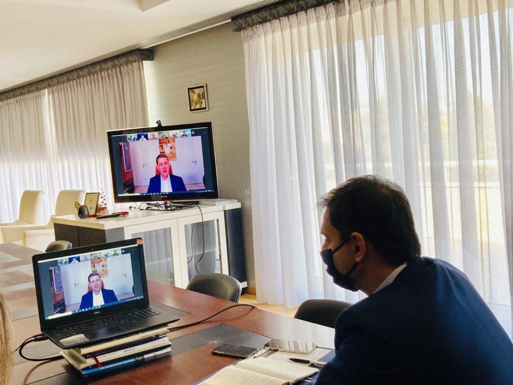 Το άνοιγμα της κρουαζιέρας συζητήθηκε σε τηλεδιάσκεψη ανάμεσα στον Υπουργό Τουρισμού κ. Χάρη Θεοχάρη και σε εκπροσώπους του κλάδου