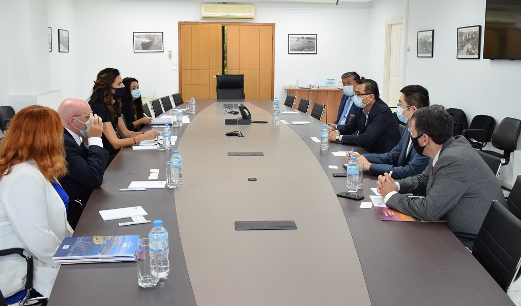 Official visit of the Ambassador of Italy to PPA S.A.