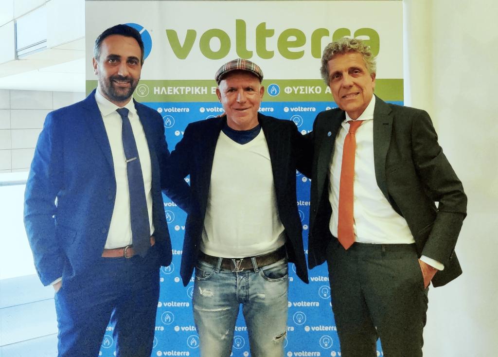 Volterra Επίσημος Μεγάλος Χορηγός  της ΠΑΕ ΚΑΛΑΜΑΤΑΣ για 3η συνεχόμενη χρονιά