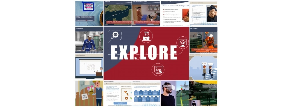 SQLearn: Provides an e-learning system for the maritime industry & seafarers