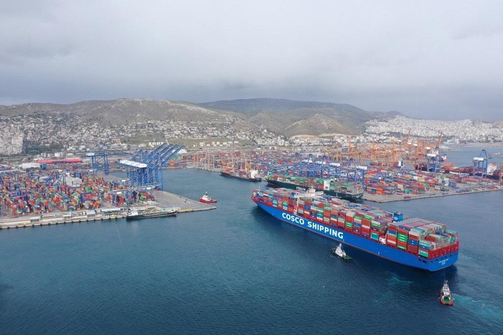 Το λιμάνι του Πειραιά το 2020 διακίνησε 5.437.477 TEU