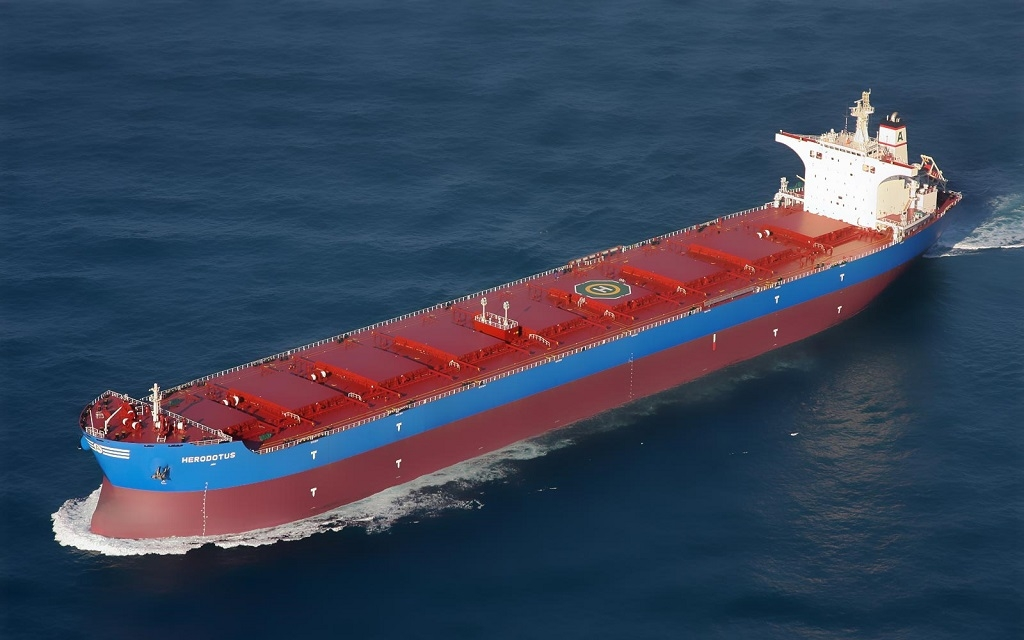 Shipping number of the week: 8 out 10 Capesize bulkers head for China when leaving Australia
